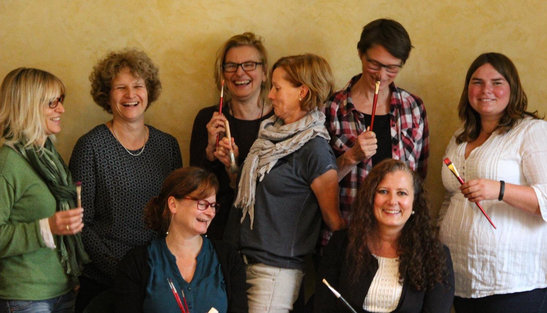 Akademie Teilnehmerinnen